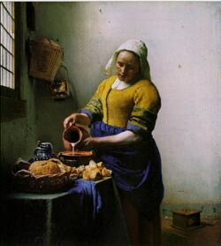 A Leiteira de Jan Vermeer