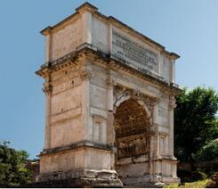 Arco do Triunfo da Roma Antiga