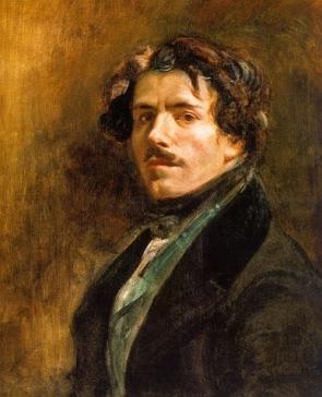 Autorretrato de Delacroix