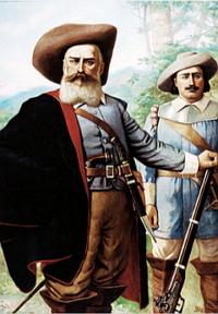 Bandeirante Domingos Jorge Velho (pintura de Benedito Calixto, 1903)