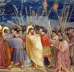 O Beijo de Judas, pintura de Giotto