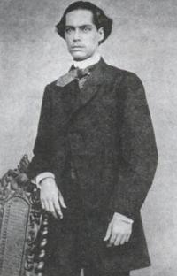 O grande poeta romântico Castro Alves em 1865