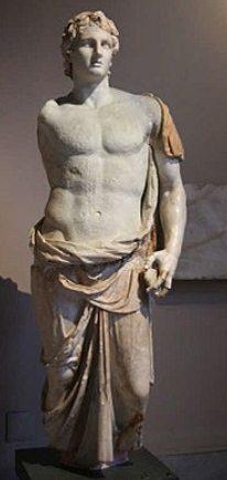 Estátua do rei macedônico Alexandre, o Grande