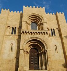 Sé velha de Coimbra em estilo românico