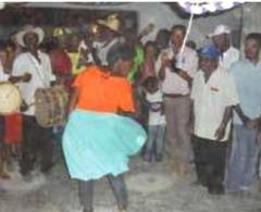 Festa quilombola no Quilombo Gurutuba