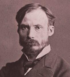 Foto de rosto de Auguste Renoir