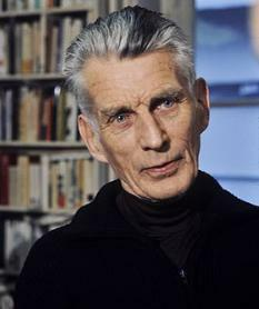 Foto do dramaturgo Samuel Beckett