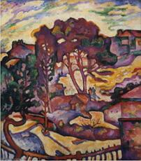As Grandes Árvores, obra do fauvismo de Georges Braque