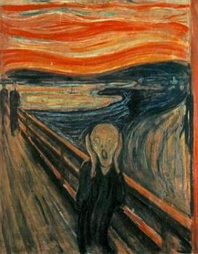 O Grito, pintura de Munch