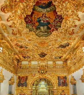 Interior da Igreja de Nossa Senhora da Conceição dos Militares em Recife