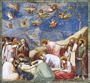 Lamentação, obra de Giotto