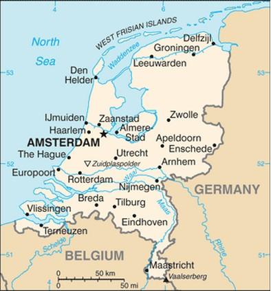 holanda no mapa Mapa de Holanda ~ Online Map holanda no mapa