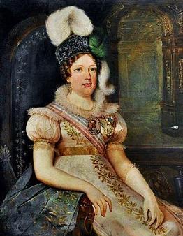 Retrato da imperatriz Maria Leopoldina