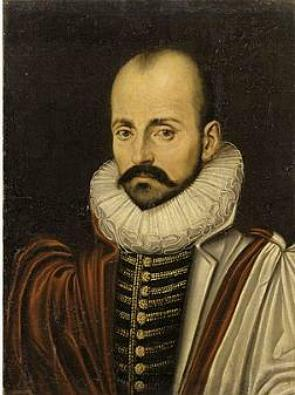 Retrato pintado do filósofo Michel de Montaigne