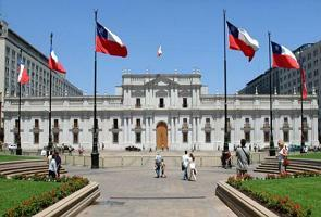 Palácio de La Moneda no Chile