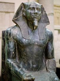 Estátua do faraó Quéfren