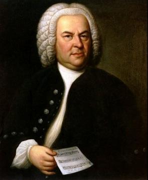 Retrato pintado de Johann Sebastian Bach