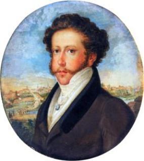 Retrato de Dom Pedro I em 1822