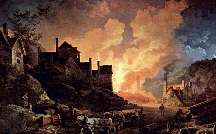 an overview of the industrial revolution in the europe during the 18th century Elements characteristic of industrial society can be the conditions enabling britain to pioneer the industrial revolution during the 18th century can be.