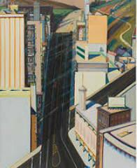 Sunset Streets, obra de Wayne Thiebaud