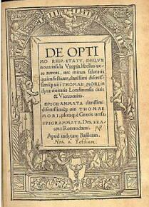 Utopia, obra de Thomas More